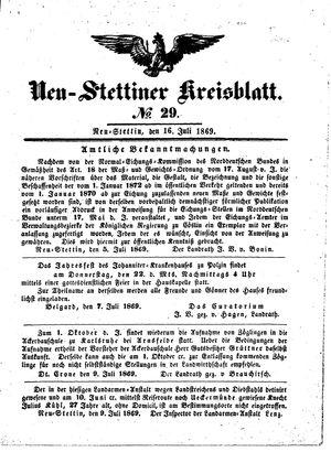 Neustettiner Kreisblatt vom 16.07.1869