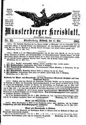 Münsterberger Kreisblatt