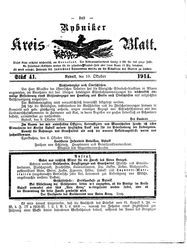 Rybniker Kreisblatt