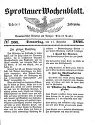 Sprottauer Wochenblatt