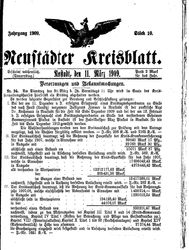 Neustädter Kreisblatt