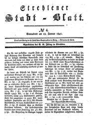 Strehlener Stadtblatt