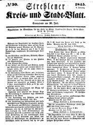 Strehlener Kreis- und Stadtblatt
