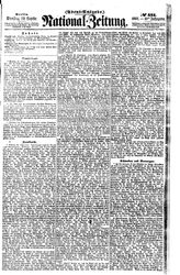 National-Zeitung (22.09.1857)