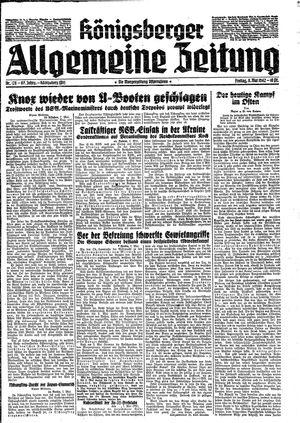 Königsberger allgemeine Zeitung on May 8, 1942
