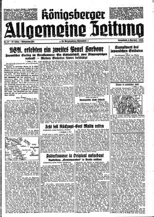 Königsberger allgemeine Zeitung vom 09.05.1942