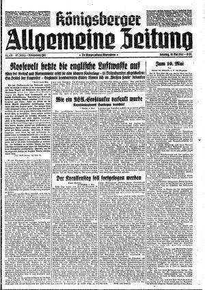 Königsberger allgemeine Zeitung vom 10.05.1942
