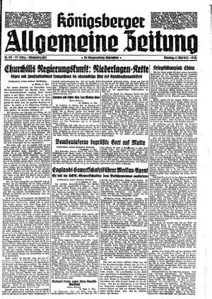 Königsberger allgemeine Zeitung vom 12.05.1942