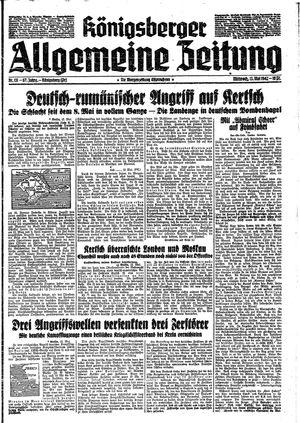 Königsberger allgemeine Zeitung on May 13, 1942