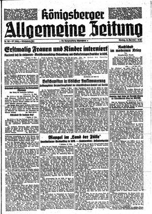 Königsberger allgemeine Zeitung vom 18.05.1942