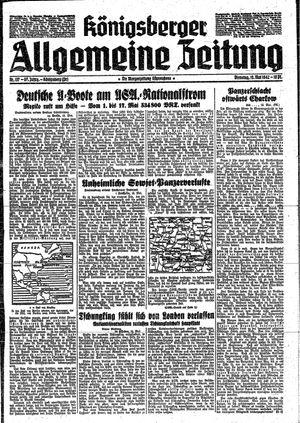 Königsberger allgemeine Zeitung vom 19.05.1942