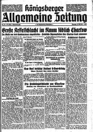 Königsberger allgemeine Zeitung vom 26.05.1942