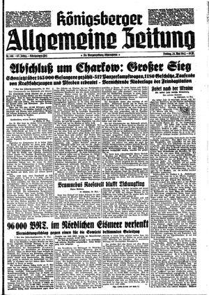 Königsberger allgemeine Zeitung vom 29.05.1942