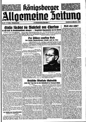 Königsberger allgemeine Zeitung vom 30.05.1942