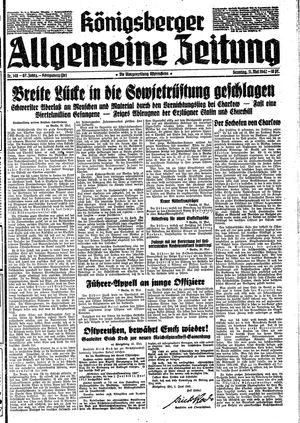 Königsberger allgemeine Zeitung vom 31.05.1942