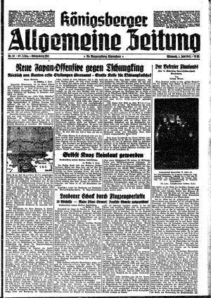 Königsberger allgemeine Zeitung vom 03.06.1942