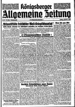 Königsberger allgemeine Zeitung vom 05.06.1942