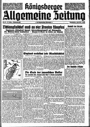 Königsberger allgemeine Zeitung vom 06.06.1942