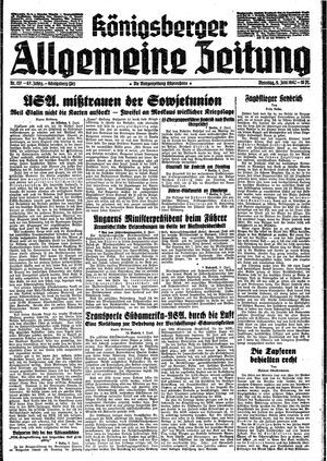 Königsberger allgemeine Zeitung vom 09.06.1942