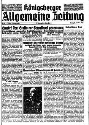 Königsberger allgemeine Zeitung on Jun 15, 1942