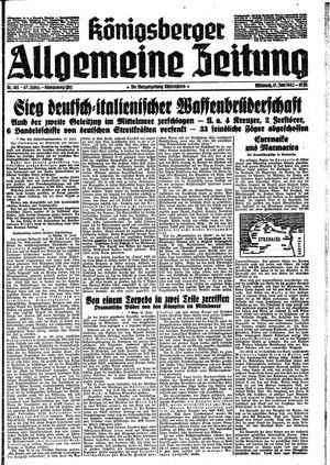 Königsberger allgemeine Zeitung vom 17.06.1942