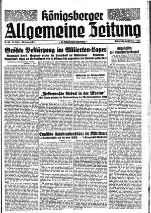 Königsberger allgemeine Zeitung vom 18.06.1942