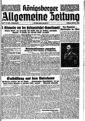 Königsberger allgemeine Zeitung vom 19.06.1942