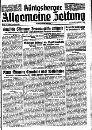 Königsberger allgemeine Zeitung vom 20.06.1942