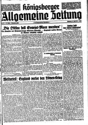 Königsberger allgemeine Zeitung vom 24.06.1942