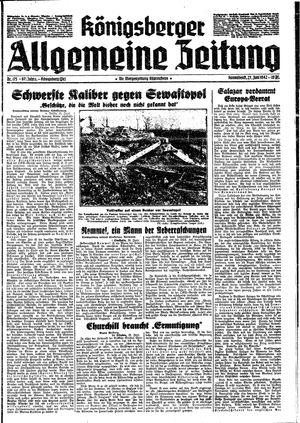Königsberger allgemeine Zeitung vom 27.06.1942