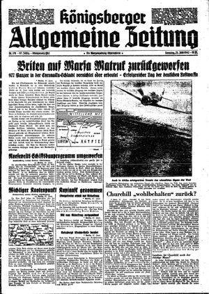 Königsberger allgemeine Zeitung vom 28.06.1942