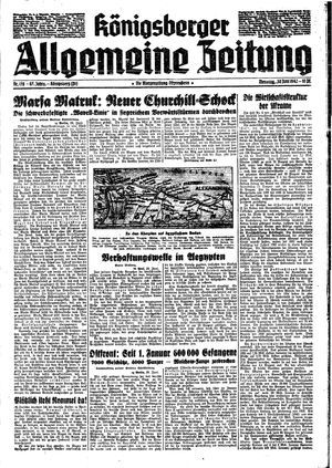 Königsberger allgemeine Zeitung vom 30.06.1942