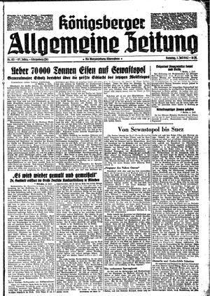 Königsberger allgemeine Zeitung on Jul 5, 1942