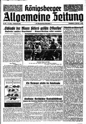 Königsberger allgemeine Zeitung vom 11.07.1942