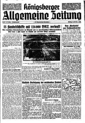 Königsberger allgemeine Zeitung vom 13.07.1942