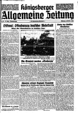 Königsberger allgemeine Zeitung vom 15.07.1942