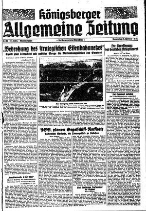 Königsberger allgemeine Zeitung vom 16.07.1942