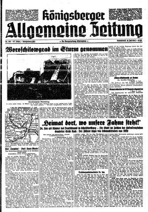 Königsberger allgemeine Zeitung vom 18.07.1942