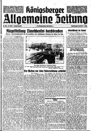 Königsberger allgemeine Zeitung vom 30.07.1942