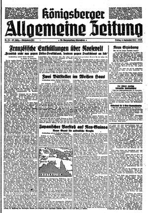 Königsberger allgemeine Zeitung vom 11.09.1942