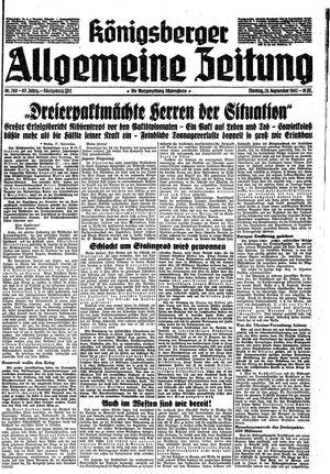 Königsberger allgemeine Zeitung vom 28.09.1942