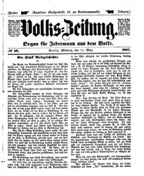 Volks-Zeitung