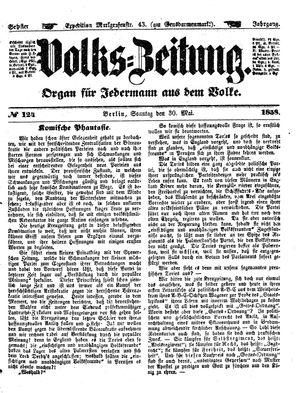 Volks-Zeitung vom 30.05.1858