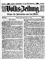 Volks-Zeitung (19.06.1858)