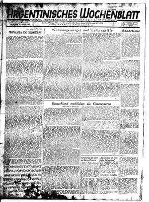 Argentinisches Wochenblatt vom 24.10.1942