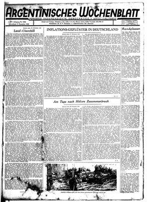 Argentinisches Wochenblatt vom 05.12.1942