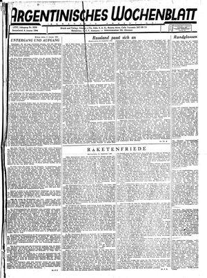 Argentinisches Wochenblatt on Jan 8, 1944