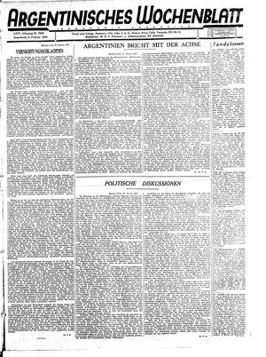 Argentinisches Wochenblatt vom 05.02.1944