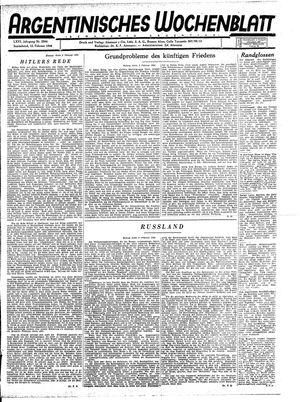 Argentinisches Wochenblatt vom 12.02.1944
