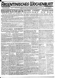 Argentinisches Wochenblatt (25.03.1944)